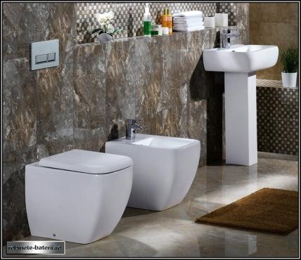 wc stativ metro lipit de perete pentru rezervor ingropat cu capac soft close. Black Bedroom Furniture Sets. Home Design Ideas